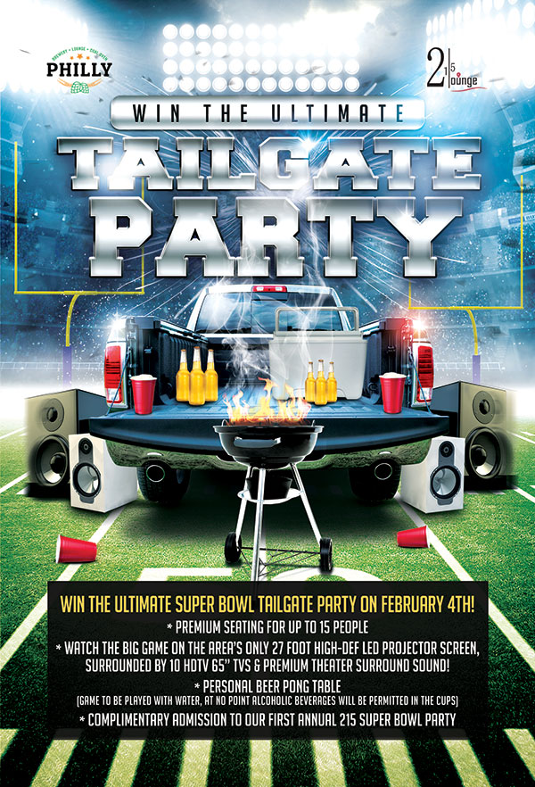 win tailgate party